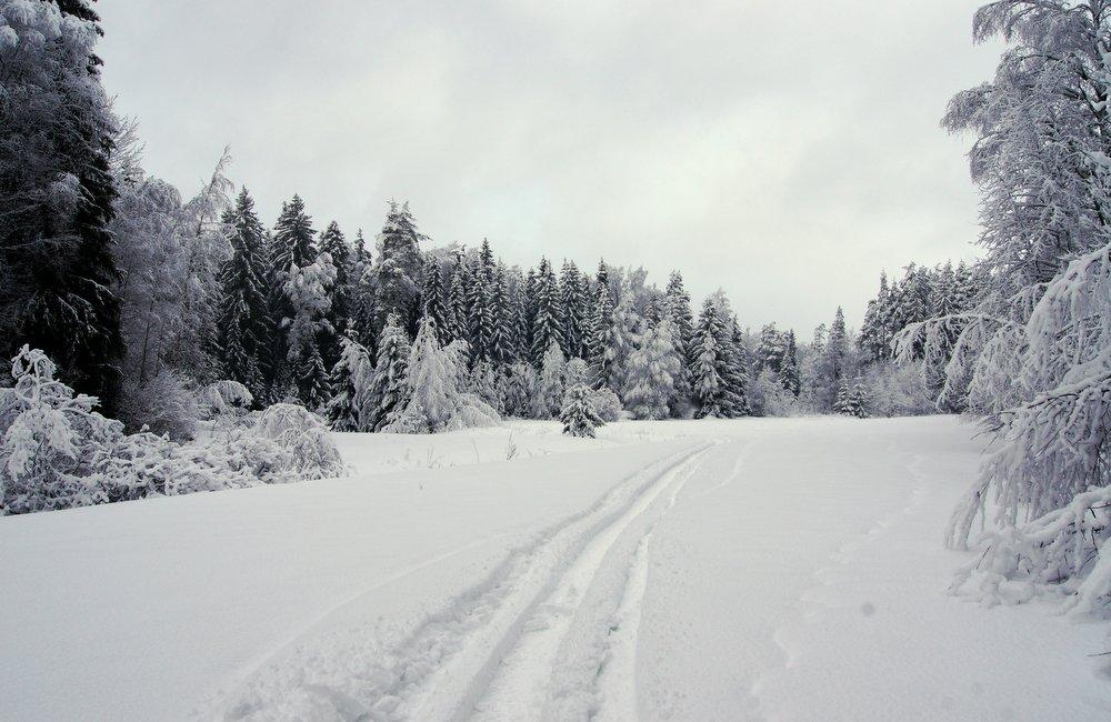 pyhtaa talvella
