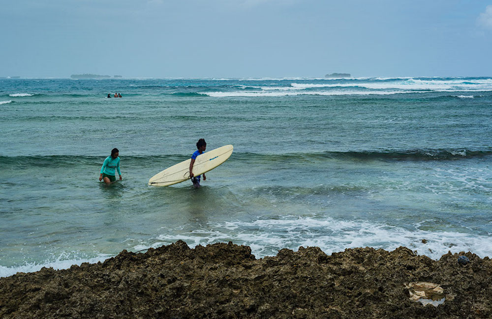 Stressitön Siargaon saari