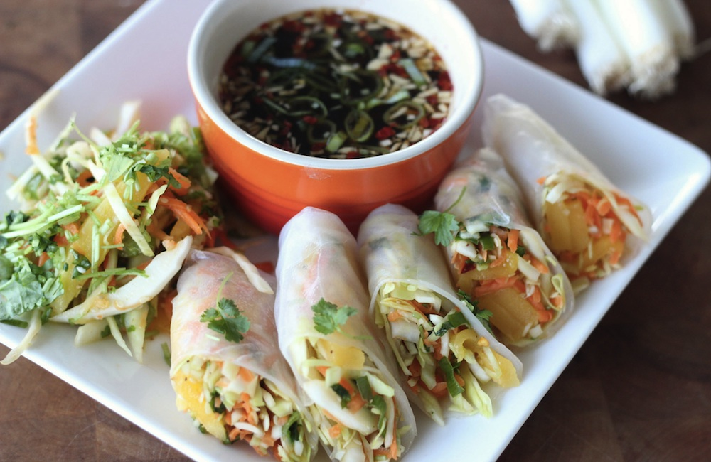 vietnamilaiset kevatrullat resepti