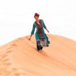 Karoliina Omanin autiomaassa