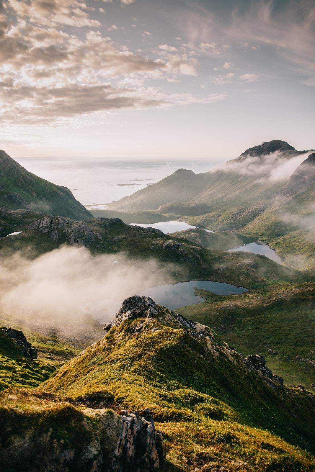 Norjan vuoristo.