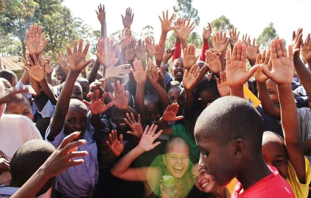 vapaaehtoistyössä Afrikassa