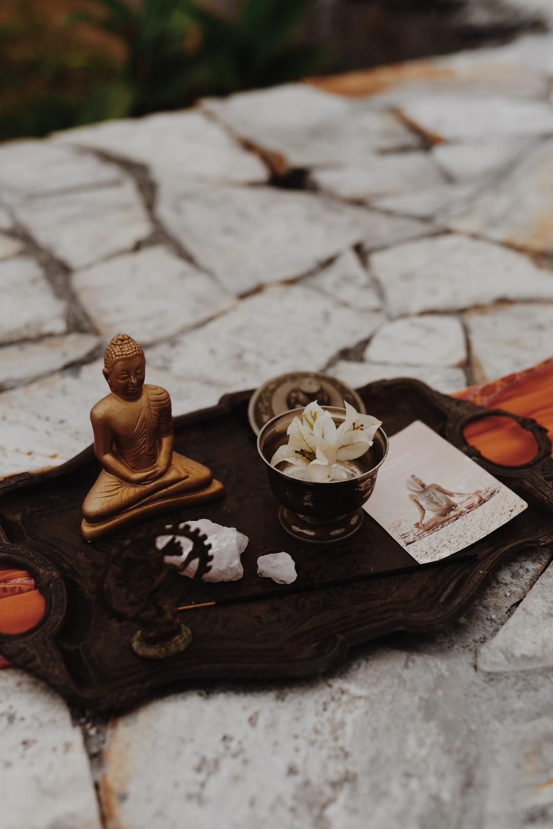 Täydenkuun meditaatio.