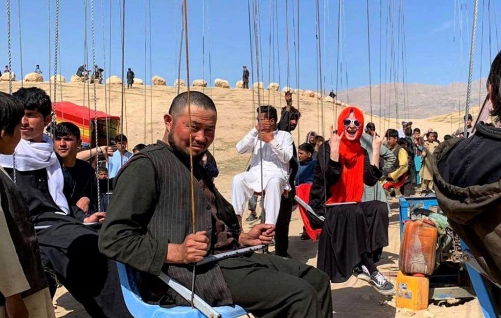 Venla Maki-Ikola Afganistanissa.
