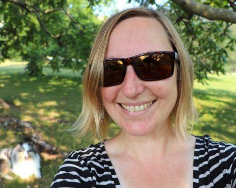Annika Rautiola Kanadassa.