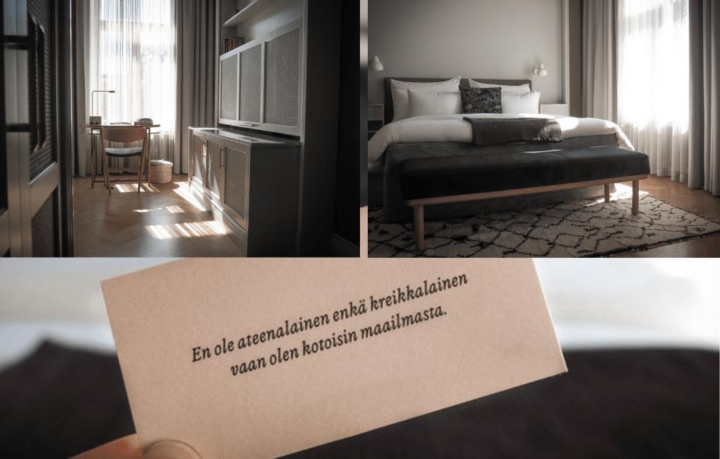Hotelli St. George Helsingissä.