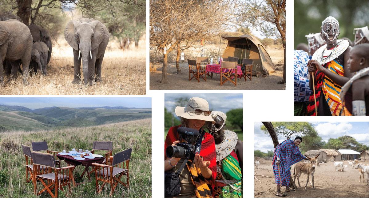 Seikkailijattaret-matka Tansaniaan Maasai-kylaan.
